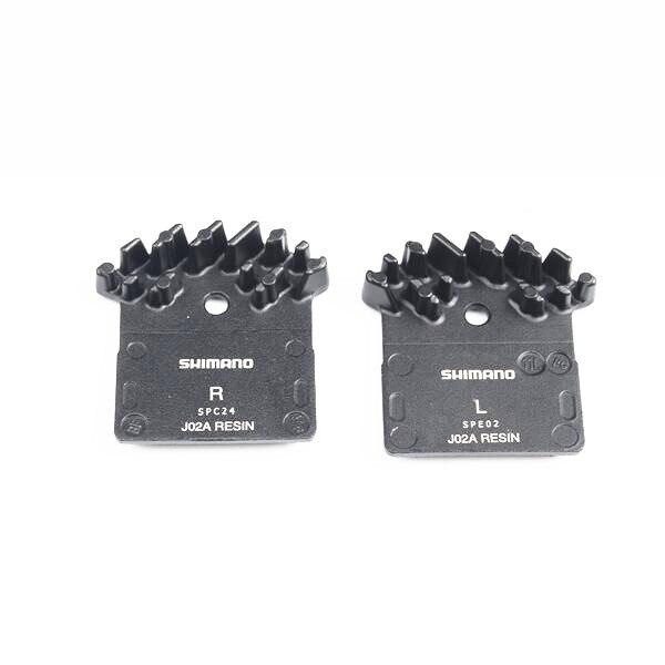 Shimano J02A resina hielo refrigeración pastillas de freno de disco para SLX M666, M675, Deore XT M785, XTR M985, M988 y Alfine M8000 y M9000