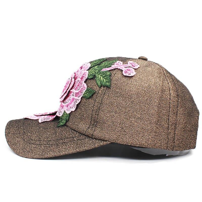 ... pretty cheap 0a2c2 0959f LOVINGSHA Women Baseball Cap Adjustable Men Spring  Floral Snapback Cap For Girl ... 810cdb175fe1