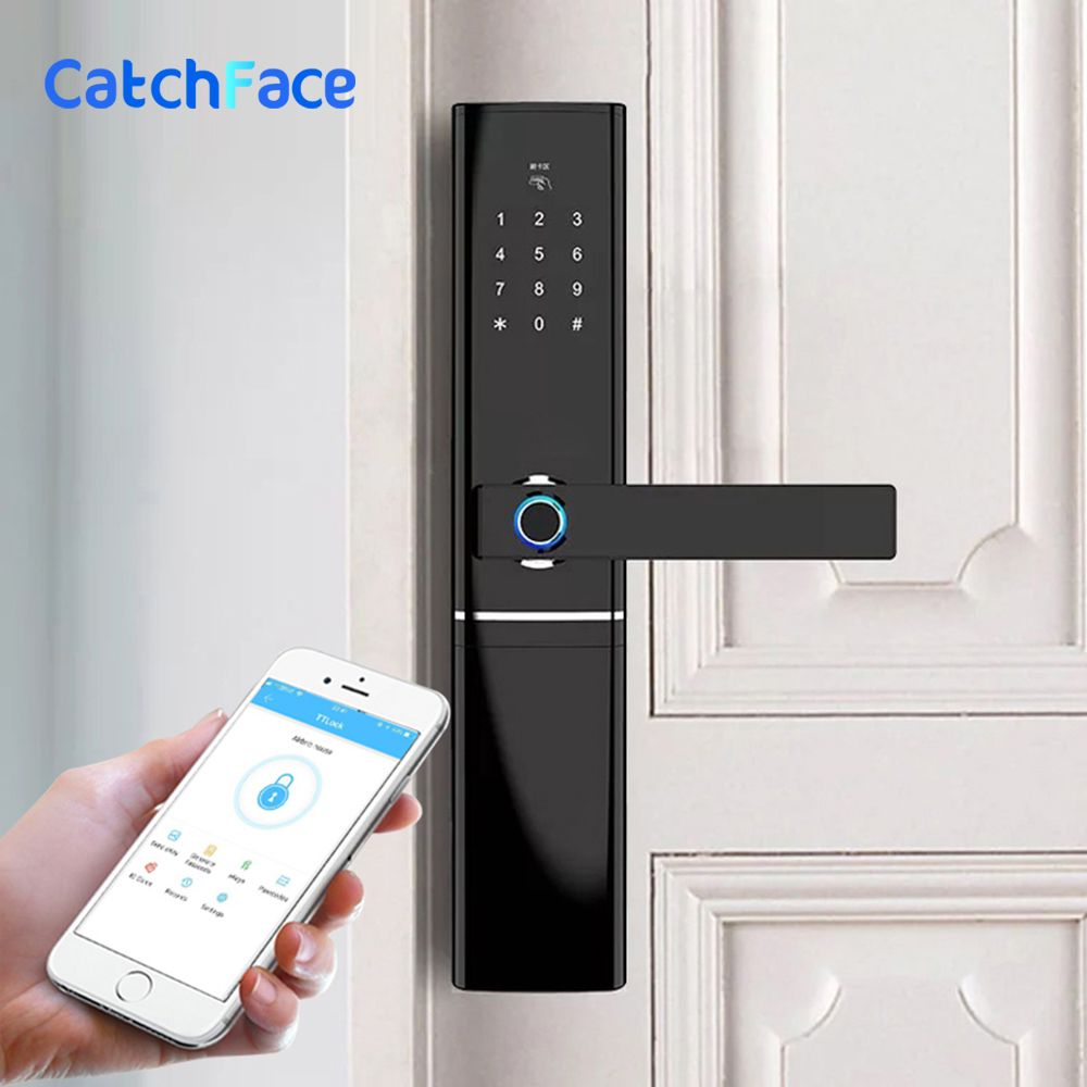 Biometric Electronic Fingerprint Door Lock Kyeless Smart Digital Safe WiFi App Bluetooth Fingerprint Lock