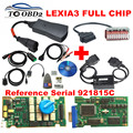 Mais recente Chip Full Lexia 3 PP2000 Lexia3 Função Completa 12 pcs NEC Relé 7 pcs Optocouplers + 30Pin + S.1279 Scanner de diagnóstico DHL Rápido