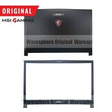 Nowy i oryginalny LCD tylna pokrywa pokrywa przednia dla MSI GS73 GS73VR tylna pokrywa Case czarny 3077B5A213 3077B1A222