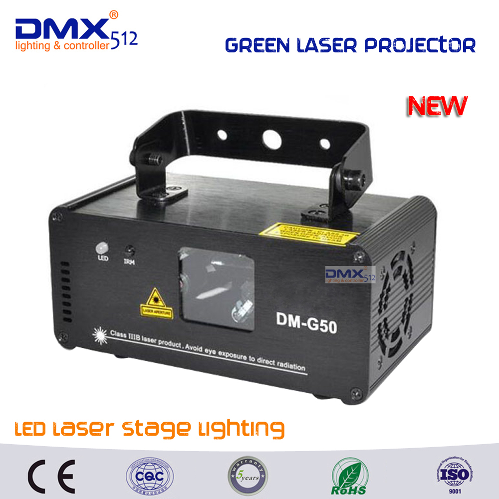 DHL Free shipping Remote 50mw Green Laser Projector Professional Stage Lighting Effect DMX512 Scanner DJ Disco Party Show Lights dhl free shipping sunlite suite1024 dmx controller 1024 ch easy show lighting effect stage equipment dmx color changing tool