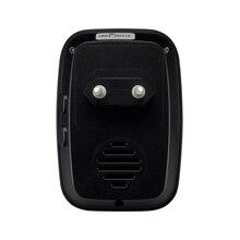 Wireless Doorbell NO battery Waterproof EU Plug led light 300m long range smart 433mhz
