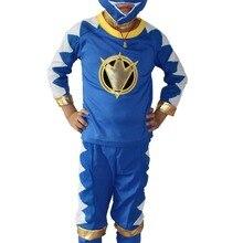 Костюм из трех предметов для мальчиков 3-7 лет на Хэллоуин, 2 цвета, красный и синий одежда для игр детская одежда для костюмированной игры, розовый и красный цвета