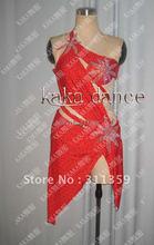 Free shipping 100 New Competition fringe Latin dance dress salsa dress KAKA L222