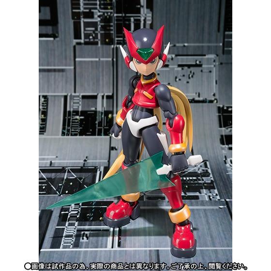 "In STOCK S.H Figuarts Zero /""Mega Man/"" Megaman Rock Man  PVC Figure Statue"