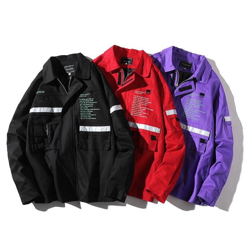 Black Fgkks purple Bomber Hop Manteau Survêtement Pour Hip Hommes Baseball Décontracté Mâle Blouson Marque 2019 De red Veste Automne Homme Mode SUqrSwB