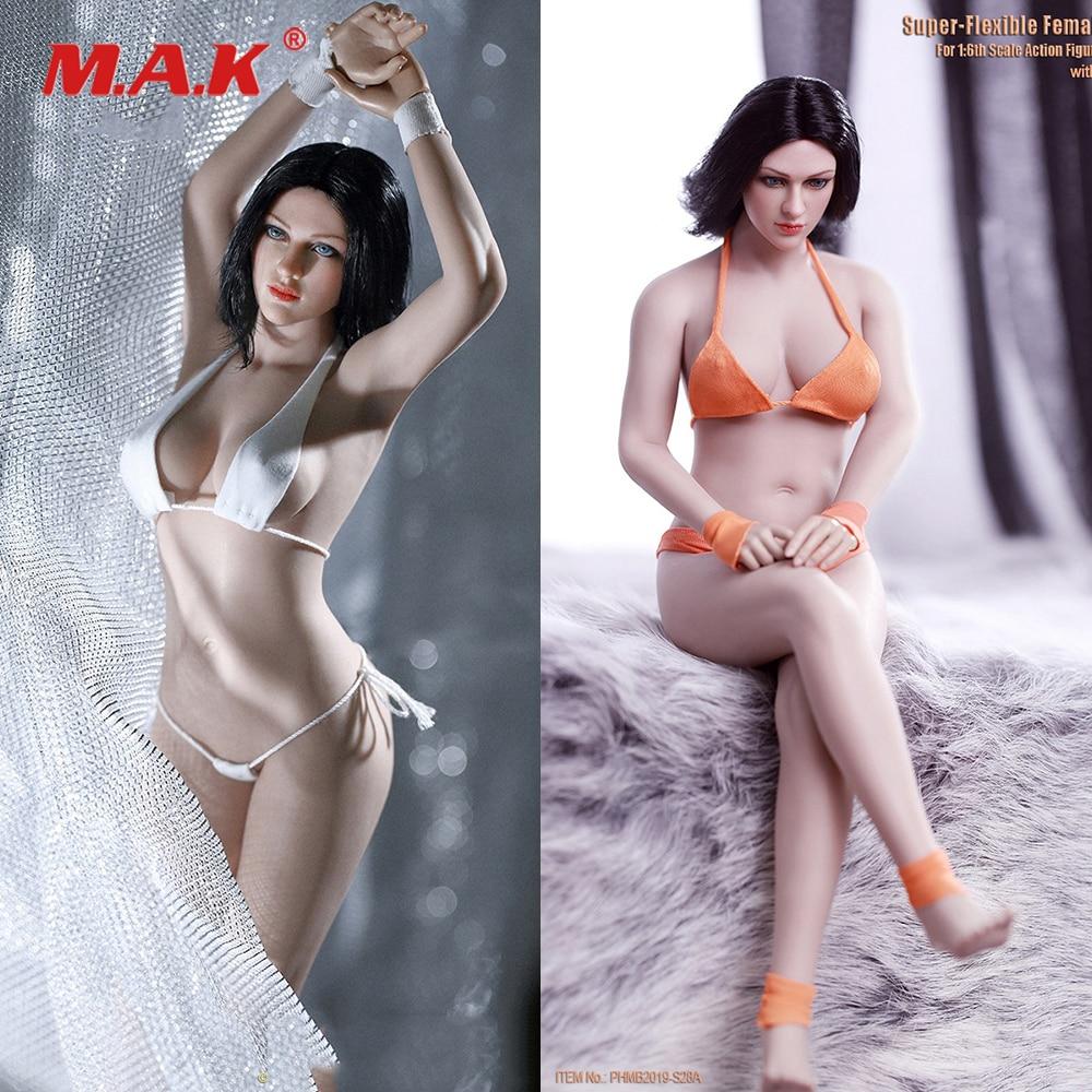 PHMB2019-S29B TBLeague PH 1:6 Flexible Female Suntan Skin Mid Bust Seamless Body