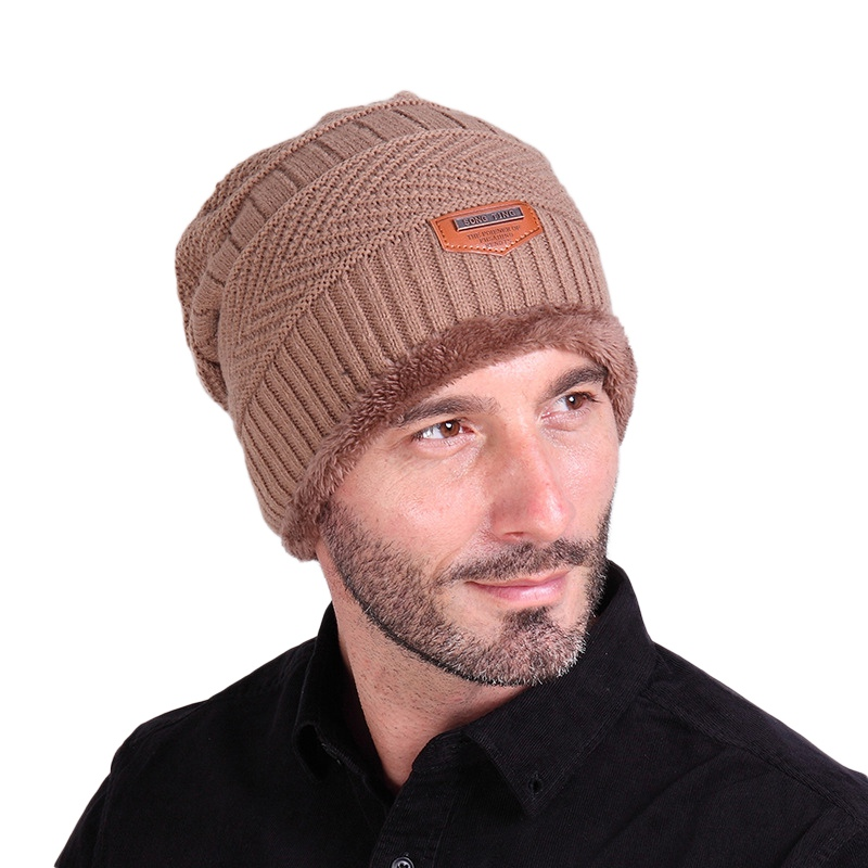 Aliexpress.com   Buy Unisex Beanie Winter Hats Cap Men Women Stocking Hat  Beanies stripe Knitted Hiphop Hat male Female Warm wool Cap Winter from  Reliable ... ae6f078dcb1