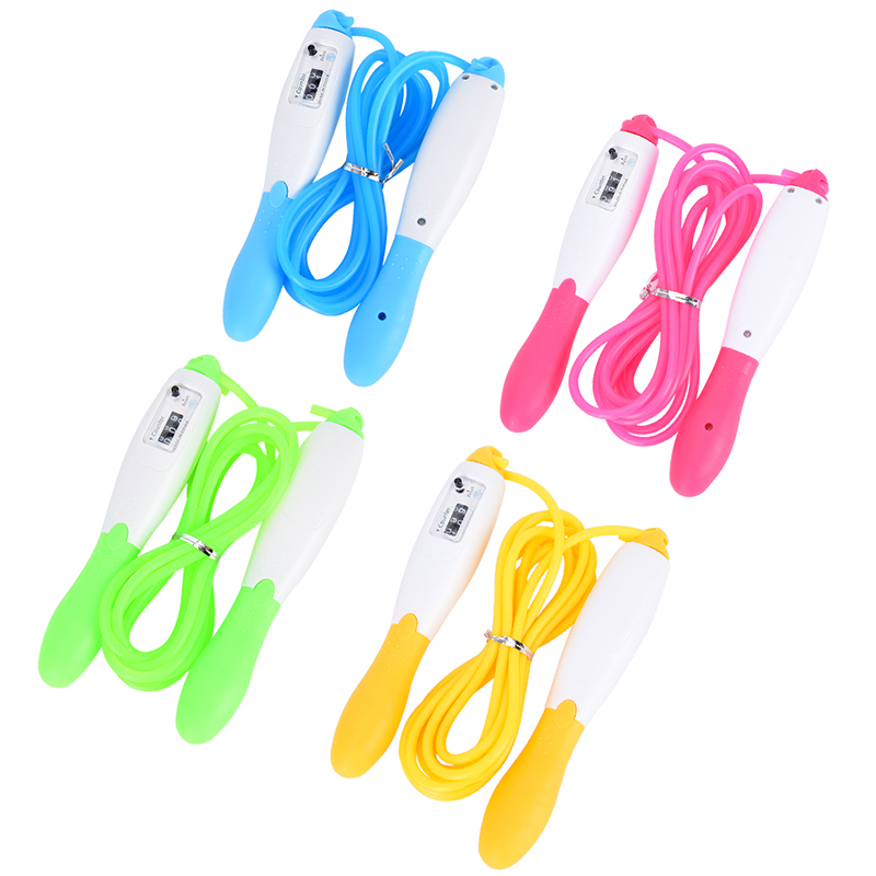 Professional Skipping Jump Speed Rope Digital Counter Fitness Sport Exercise L