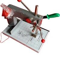 Máquina de encadernação manual YX 3 máquina de perfuração máquina de pasta de papel pessoal máquina de perfuração de arquivo binder machine paper binder machine bookbinding machine -