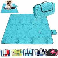 200x200CM Waterproof Folding Picnic Mat Outdoor Camping Beach Moisture Proof Blanket Portable CampingMat Hiking BeachPad