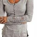 2016 Новых Мужчин Т Дерьмо Осенью и Зимой С Длинным Рукавом Harajuku Kawaii Плюс Размер Женская Одежда Топы Хлопок Серый Белый Черный Рубашки