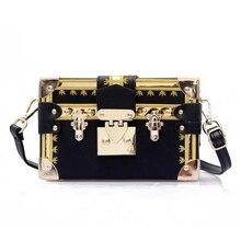JUILE Women Brand Designer Advanced Square Box Shoulder Bag  High Quality PU Lady Handbag Messenger bag Fashion Wild Womens