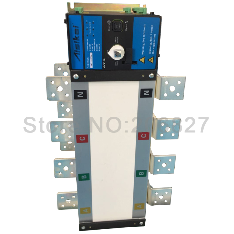 1000A Three phase 4P genset automatic transfer switch (ATS  1000A) mds400a 1600v 400a three phase