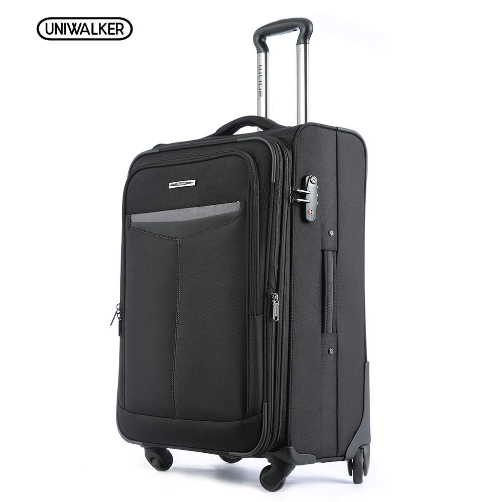 UNIWALKER Expandable Luggage 20 24 Lightweight Suitcase Spinner Wheels Carry ons Trolley Trunk Zipper Luggage