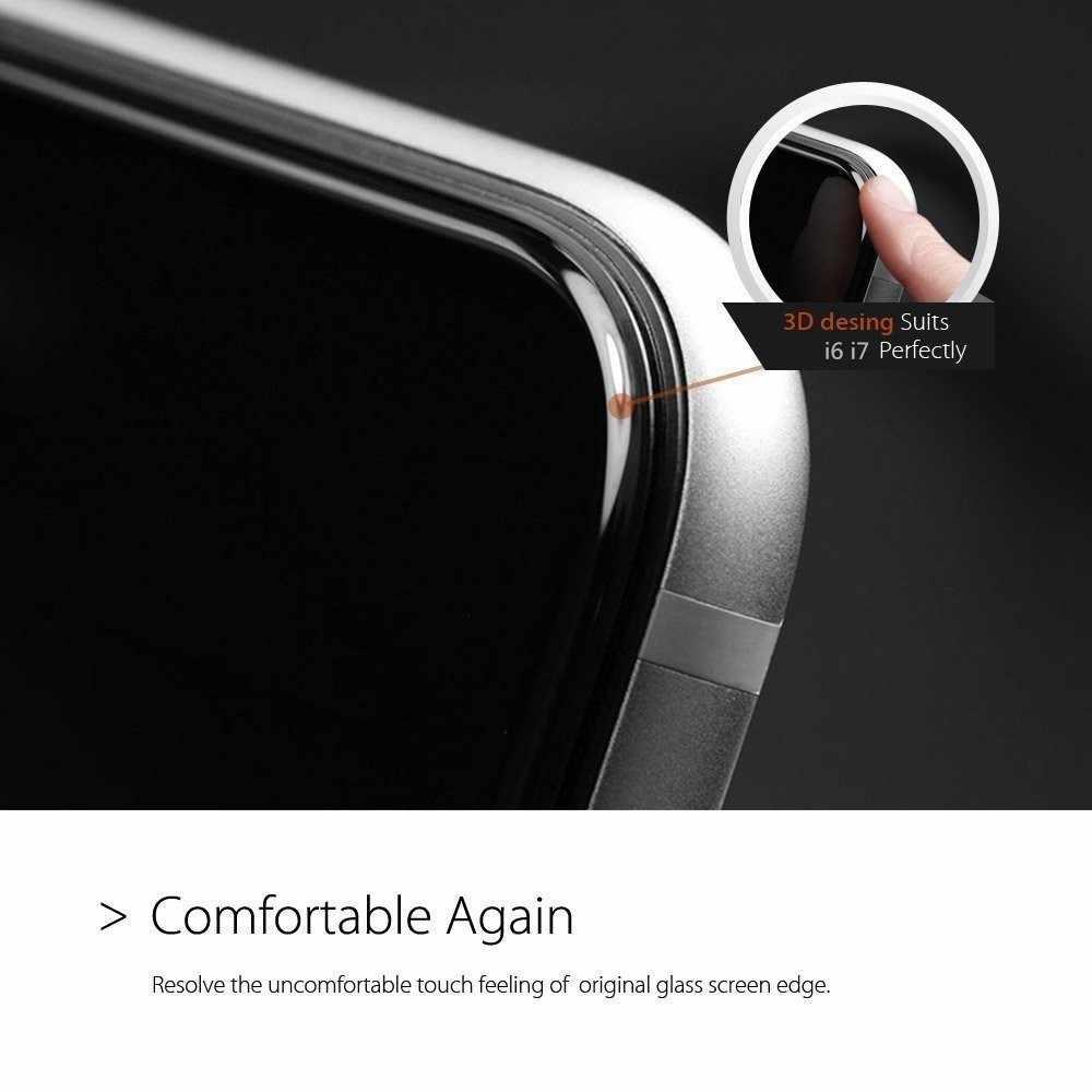 غطاء كامل الصلب حافة الهاتف الخليوي شاشة حامي ل فون 7 8 الزجاج المقسى لفون 6 6 ثانية الزجاج فيلم واقية 9 H جودة