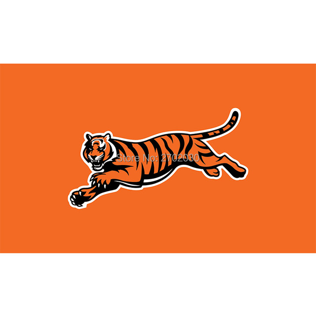 orange cincinnati bengals flag super bowl champions football team