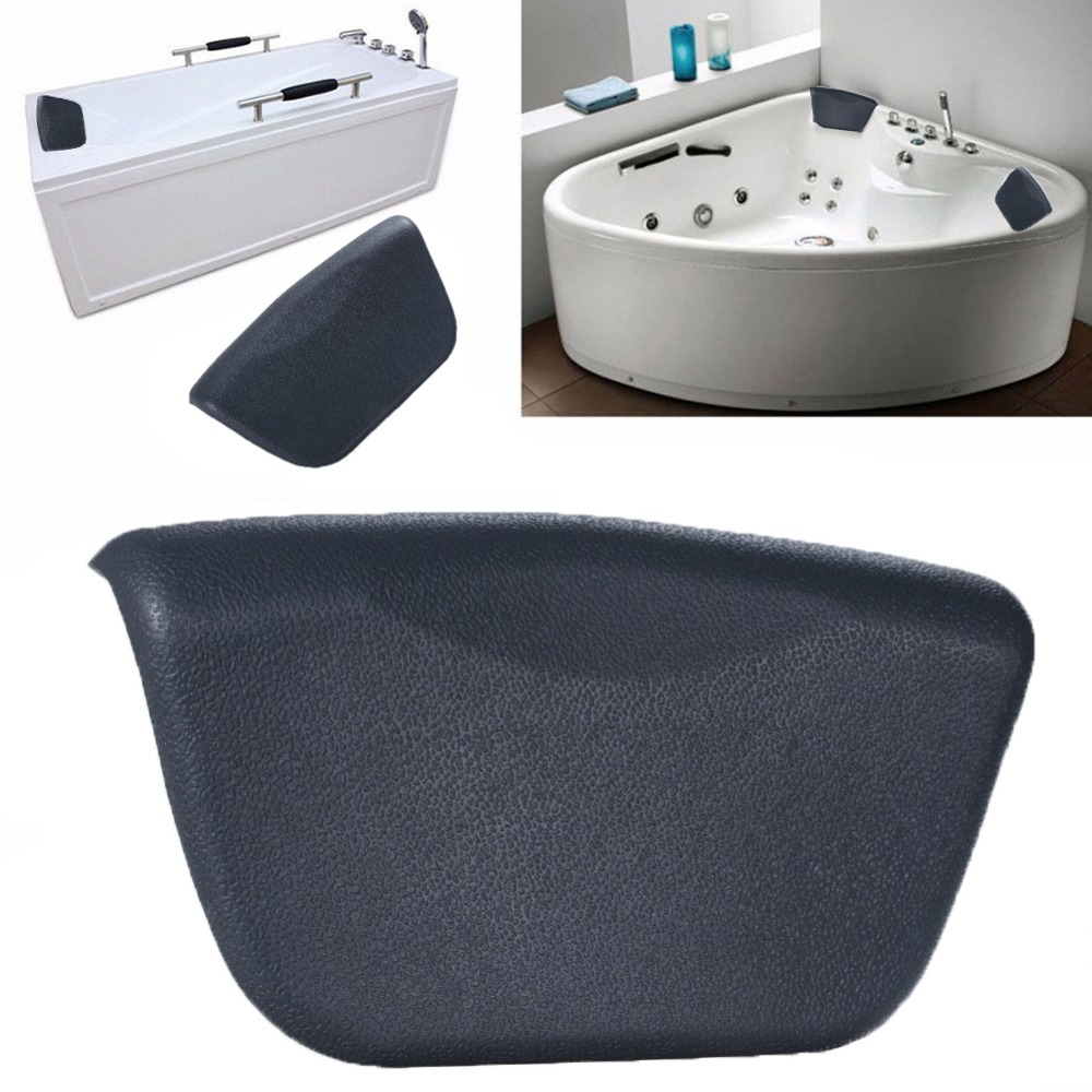 LumiParty PU Confortável Travesseiro Banho De Banheira SPA Titular Presente de Natal-25 Do Pescoço Para Trás