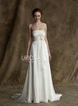 free shipping new design flowers vestido de festa longo robe soiree 2014 Formal gown white chiffon long evening elegant dress