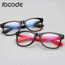 iboode Clear Lens Glass Frame Anti Blue Ray Surfing Eye Protective Glasses Plain Men Women Student Eyeglasses Eyewear