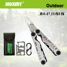 купить 10 In 1 Outdoor Folding Combination Tools Stainless Steel Multifunctional Pliers Can Opener Key Buckle Slotted Nail File Pocket дешево