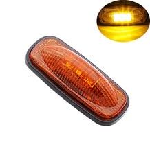 4Pcs 3LED Car Side Marker Lights 12V Truck Trailer Pickup Clearance Lamp for Dodge