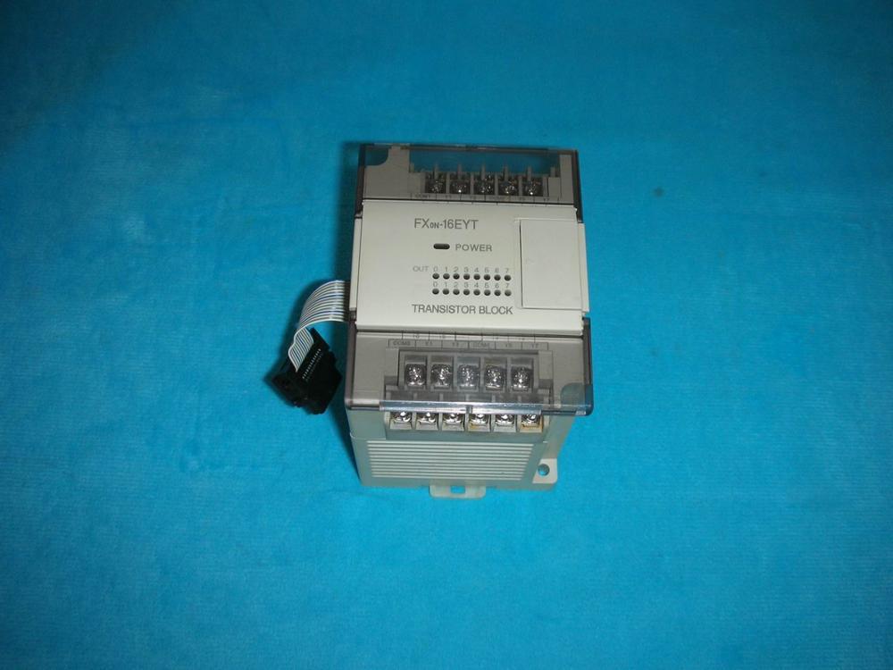 1PC USED * FX0N-16EYT PLC 1pc used fatek pm fbs 14mc plc