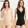 Las mujeres que adelgaza underwear body shaper cintura tren de la mujer bragas delgadas de alta elástico del vientre adelgaza vaina tres hileras de cierre