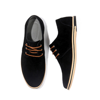 Drop Shipping Men Casual Suede Driving Shoes Men Daily Office Shoes Comfortable Footwear Big Size