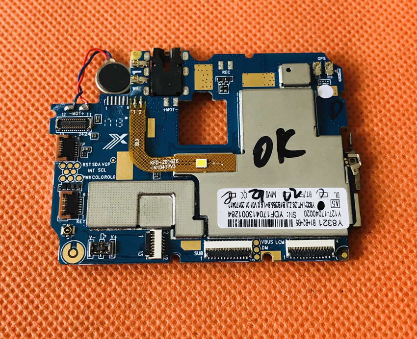 Used Original mainboard 1G RAM+8G ROM Motherboard for HOMTOM ZOJI Z6 MTK6580 Quad Core Free Shipping