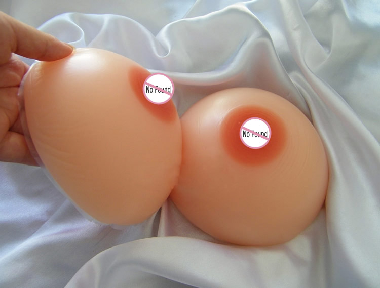 1000 g/pair D Cup Silicone Breast Form Mastectomy Breast Forms Breast Enhancer For Cross Dressing 1 pair gg cup nude skin tone 2800g silicone breast form with straps