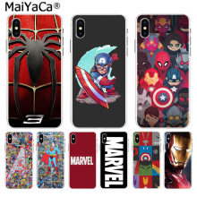 MaiYaCa Deadpool iron Man Marvel Avengers KingKong Star Wars phone case for iPhone 8 7 6 6S Plus X XS max 10 5 5S SE XR(China)