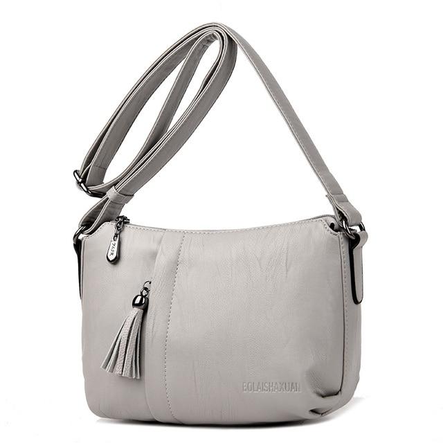 c3eb223cbc42 2017 Tassel Luxury Handbags Women Bags Designer Crossbody Bag Ladies Hobo Shoulder  Bag Big Female High