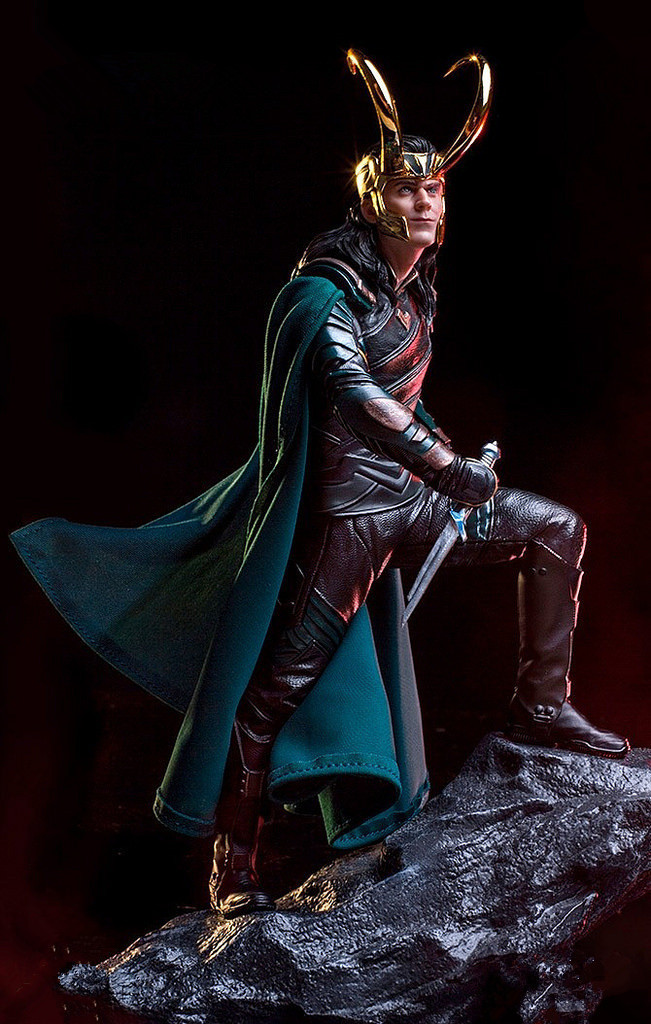 Avengers Thor Ragnarok Rocky Loki Statue 1/6 échelle figurine à collectionner modèle jouet poupée EE0