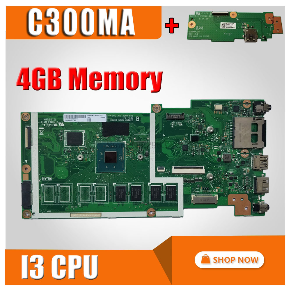 все цены на send board+C300MA GM -I3 CPU-4G RAM Motherboard For ASUS C300M C300MA Notebook notebook C300MA motherboard C300MA mainboard