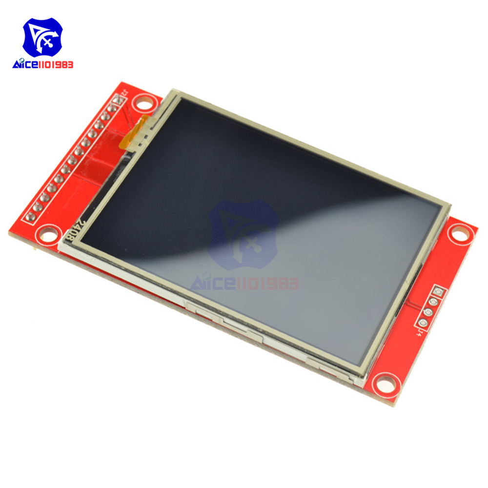2.4 Inch 240x320 SPI TFT LCD Serial Port Module 5V/3.3V PCB Adapter ILI9341 LCD Display For Arduino