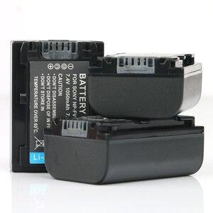 LANFULANG 3-Pack NP-FV50 NP FV50 Replacement Batteries for Sony NP-FV30 NP-FV40 NPFV50 NP-FV70 NP-FV70A NP-FV100 BC-TRV