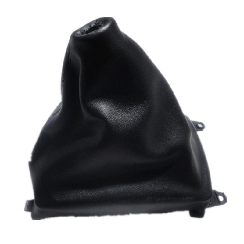 For Mazda 6 2008 2013 Gear Gaiter Shifter Boot Black Leather New: Car Styling For Mazda 6 M6 Black PU Leather Car Gear Shift Knob Boot Gaiter Cover Collar 2002