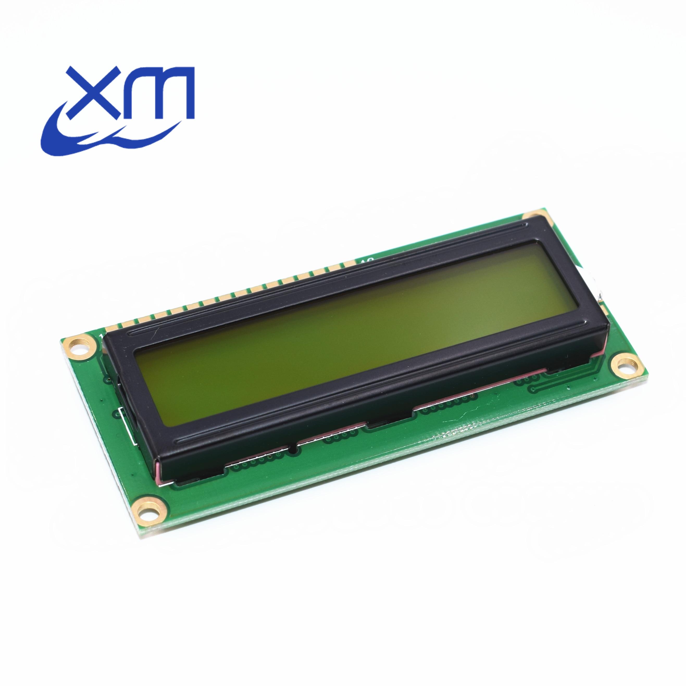 20pcs/lot , New 1602 LCD Display Module , LCD 16x2, Yellow Green Screen Backlight , 5V