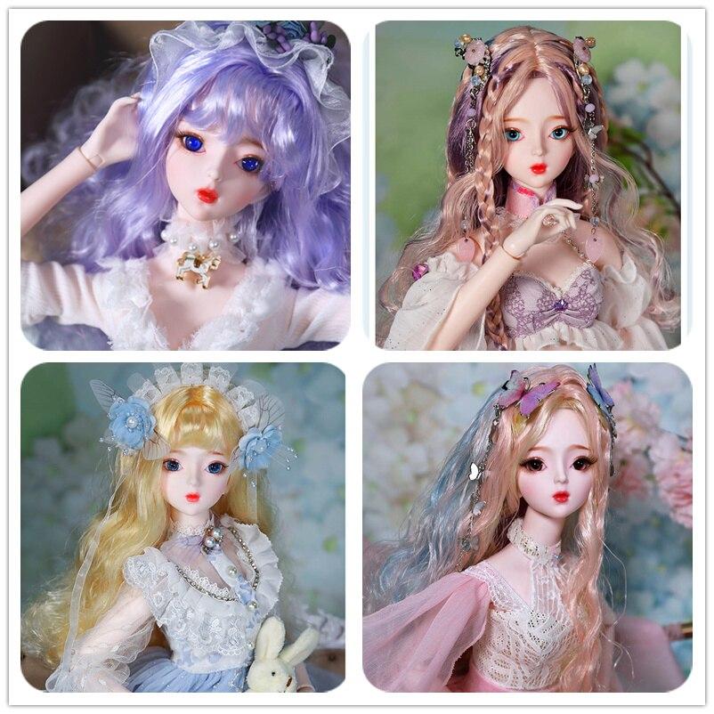 1/3 BJD Blyth Bambola Corpo Misto 60 CENTIMETRI versione aggiornata in grado di aprire il cervello per cambiare il occhio combinazione set regalo giocattoli bambole sd-in Bambole da Giocattoli e hobby su  Gruppo 1