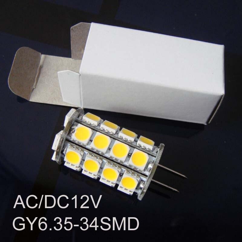 High quality 12V GY6 35 led lights GY6 35 lights led GY6 led bulb free shipping