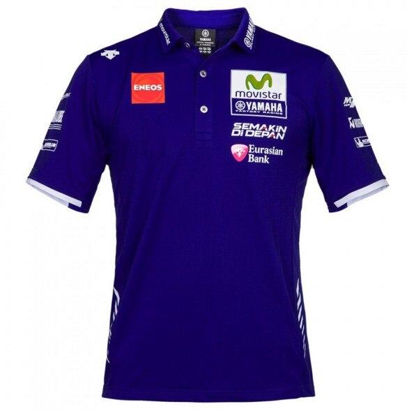 New Motorcycle Polo Motogp Movistar Polo Shirt For Yamaha Team Polo Shirt Monste Ebay