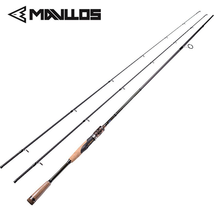 Mavllos 2 Tip Carbon Fishing Rod Lure Weight 8 25g Whole