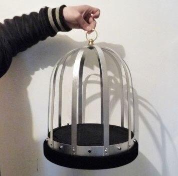 Cage à feu automatique tours de magie scène colombe magique apparaissant de Cage vide Magia Gimmick accessoires Illusion mentalisme pour magiciens