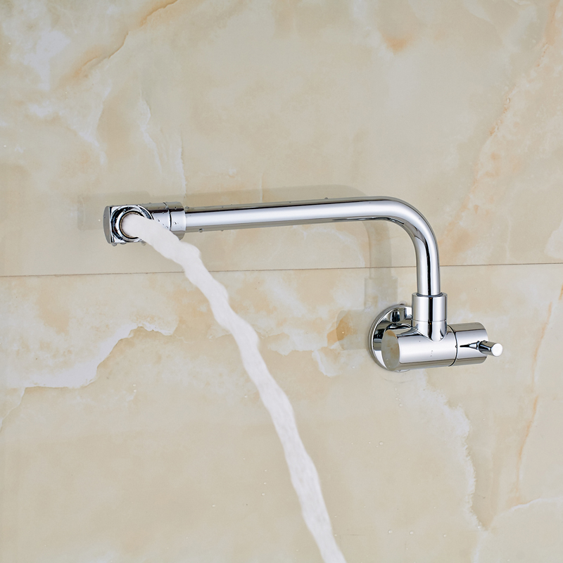 Free Shipping Wall Mounted Bathroom Kitchen Faucet Only for Cold ...