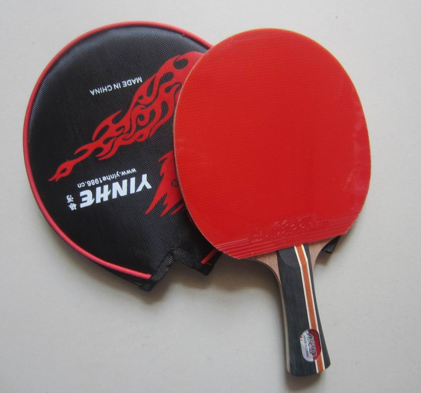 Original Galaxy Yinhe 04b Table Tennis Rackets Finished Rackets Racquet Sports Pimples In Rubber