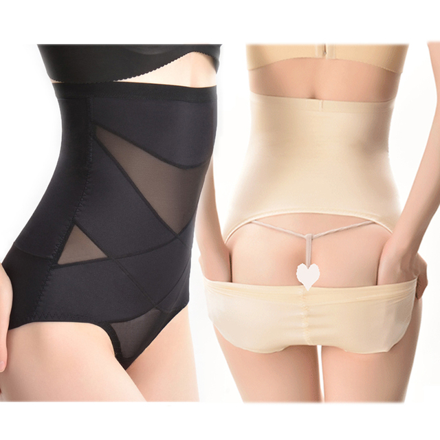 Lingerie Control Panties Waist Trainer Sexy Bodysuit Body Shaper Corset Shapewear Slimming Briefs Butt Lifter Women Underwear