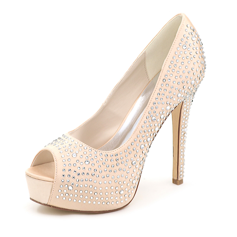 Silver Rhinestone Evening Shoes Promotion-Shop for Promotional ...