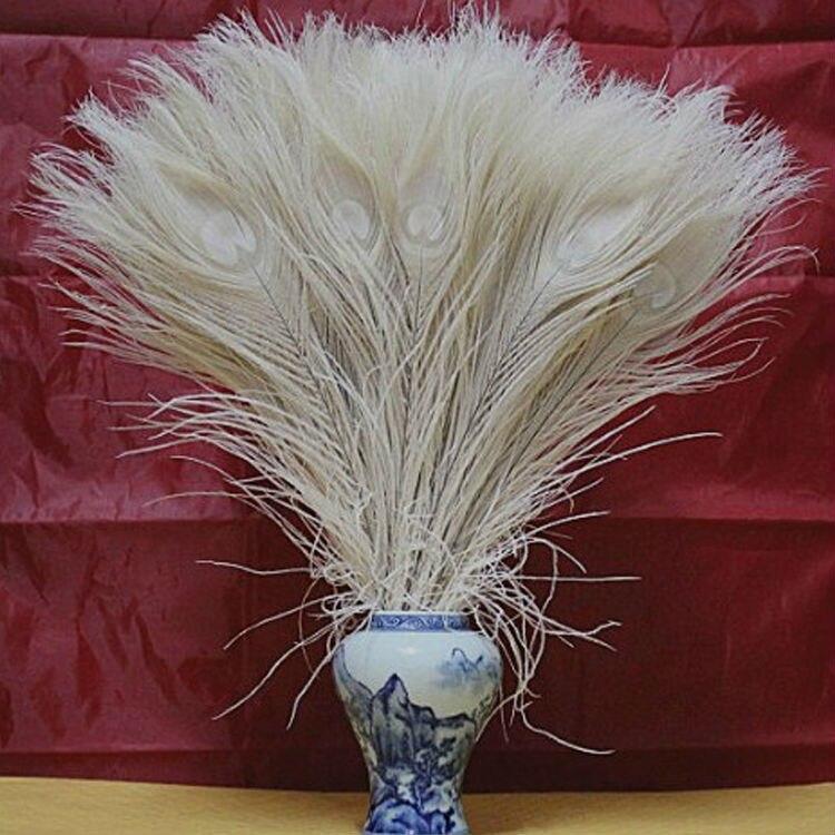 Лидер продаж! 50 шт./лот 25-30 см покрасить многоцветные оптом дешево белое перо павлина Глаза Для свадебной вечеринки дома волосы DIY украшения